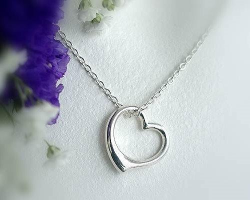 Herzanhänger  Silberschmuck - Herzanhänger Silber-925 (3R), Silber- und ...