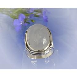Mondsteinring 18 mm Silber-925 UNIKAT (MT56)