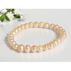 Perlen - Perlenarmband mit Gummizug 18 cm (PER15)