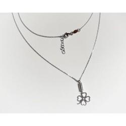 Silberschmuck - Damen Collier Kleeblatt Silber-925 (SD108)*