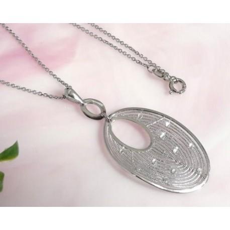 Silberschmuck - Damen Collier Silber-925 (SD104)*