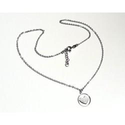 Silberschmuck - Damen Herz Collier Silber-925 (SD102)*