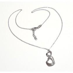 Silberschmuck - Damen Herz Collier Silber-925 (SD101)*
