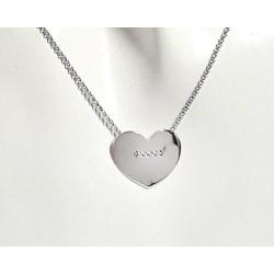 Silberschmuck - Damen Herz Collier Silber-925 (SD103)*
