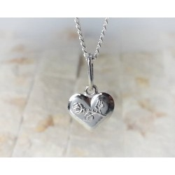Silberschmuck - Anhänger Herz Silber-925 (SU241)*