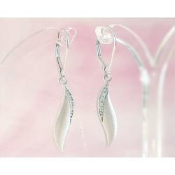 Silberschmuck - Ohrhänger mit Zirkonia Silber-925 (SM89)*