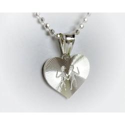 Sternzeichen Zwillinge Silber Silberschmuck  ST130