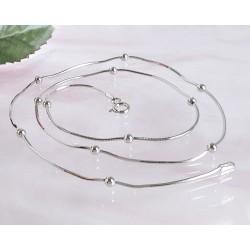 Damenkette 42 cm  Silber-925  (SD119)