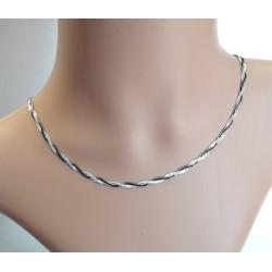 Silberschmuck - Designer-Collier 45cm Silber-925  (SD118)*