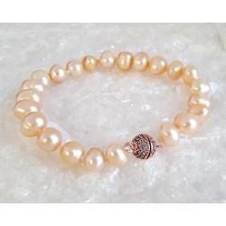 Perlen - Perlen Armband geknotet 18,5 cm (PER23)