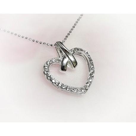 Silberschmuck - Anhänger Herz Silber-925  (SP172)*