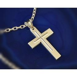 Silberschmuck - Anhänger Kreuz Silber-925 (SU48)*
