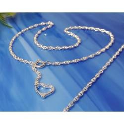 Silberschmuck - Fußkettchen 24 cm Silber-925 (FR42-24)*