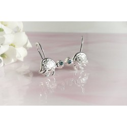 Silberschmuck - Kinderschmuck - Ohrhänger Silber 925 (AK68)*