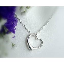 Silberschmuck Herz Anhänger Silber 925 3R01