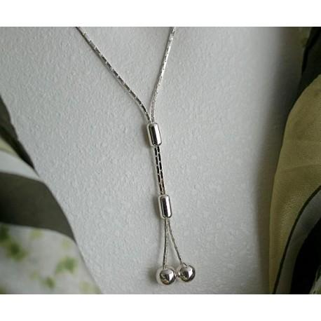 Silberschmuck - Damencollier  Silber-925  (BG)*