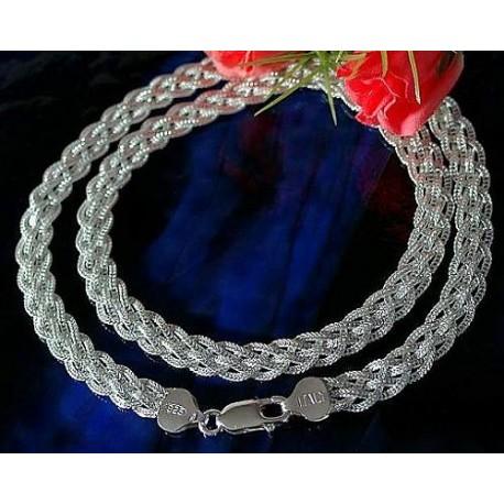 Silberschmuck - Designer-Collier  Silber-925  (KS01)*
