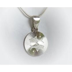 Sternzeichen Fische Silberschmuck (ST142))