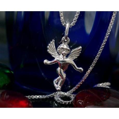 Silberschmuck  Anhänger Engel  Silber 925 SU42