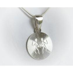 Sternzeichen Zwillinge Silberschmuck (ST135)
