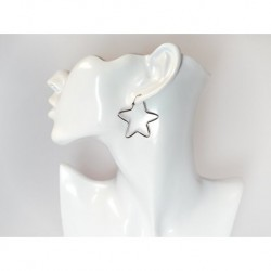 Silberschmuck - Ohrhänger STERN Silber-925  (SO84)*