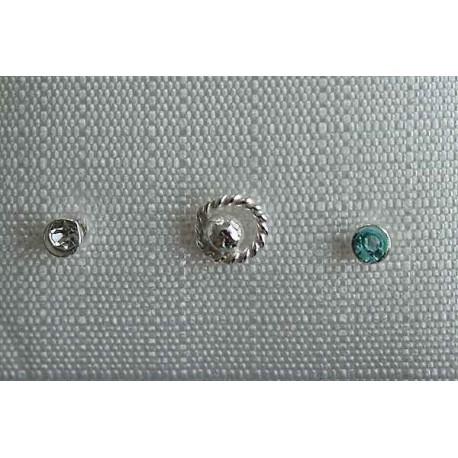 Piercing - Nasenpiercing  Silber-925  (HW)