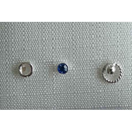 Piercing - Nasenpiercing  Silber-925  (HY)