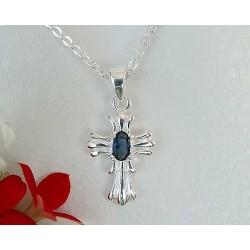 Silberschmuck - Anhänger Kreuz  Silber-925  (6H)*