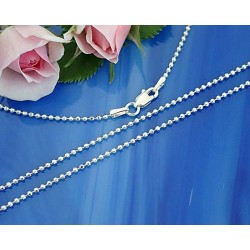 Silberschmuck - Kugelkette 40cm Silber-925 KA01-40