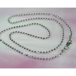 Silberschmuck - Kugelkette 40 cm Silber-925  ka33-40
