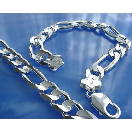 Armband Figarodesign Silber-925  (9U)