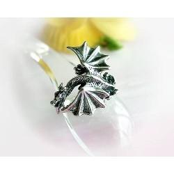 Drachen / Mystik - Drachenring Silber-925 (SR05)*