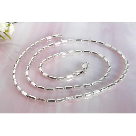 Damenkette 45 cm  Silber-925  (KF03)