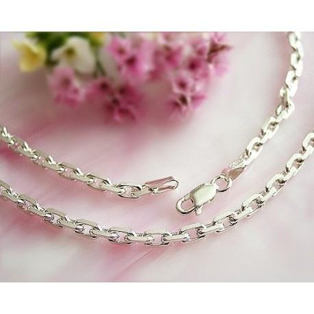 Ankerkette Silber 925 45 cm - 60 cm (KE01a)