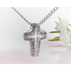 Silberschmuck Kreuzanhänger  Silber 925  SP04
