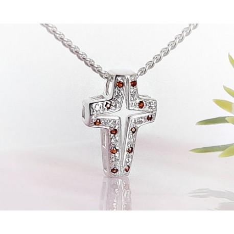 Silberschmuck - Anhänger Kreuz  Silber-925  (SP02)*