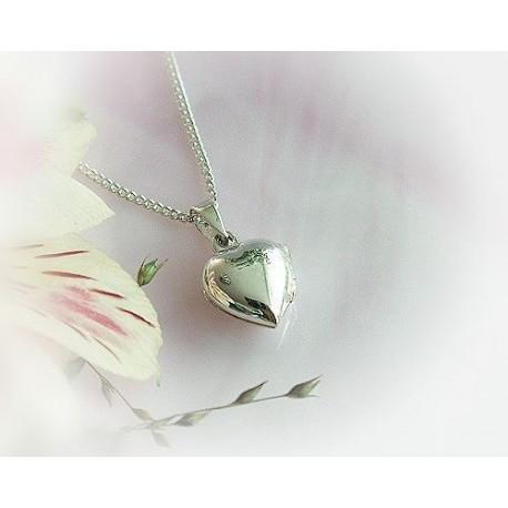 Silberschmuck - Medaillon Silber 925 (SH26)
