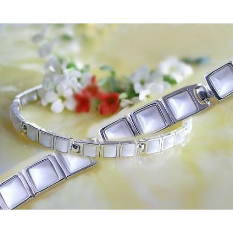 Silberschmuck- Armband-Katzenauge Silber 925 (MS02)*