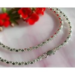 Silberschmuck - Coreana-Kette  Silber-925  (KF69)*