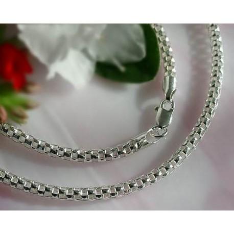 Coreana-Kette 60 cm Silber-925  (KF62)