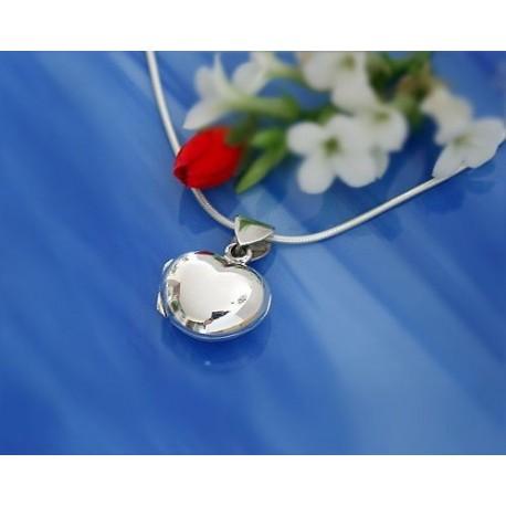 Silberschmuck - Medaillon  Silber-925  (SH46)