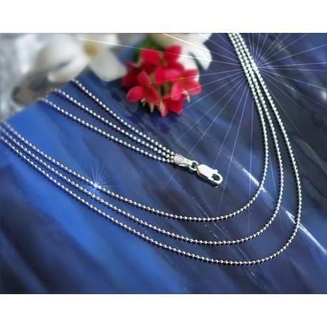 Silber Collier 45 cm Silber 925 Sterlingsilber  SD10