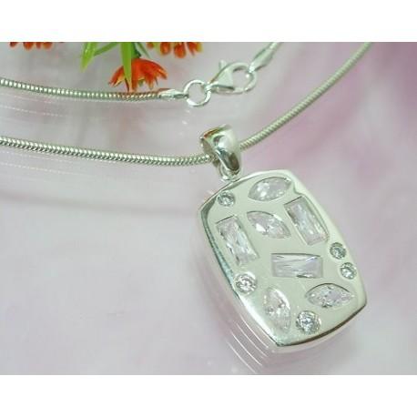 Silberschmuck - Damencollier Silber-925 (SD12)