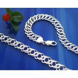 Herrenschmuck - Armband  23cm Silber-925  (KK14)*