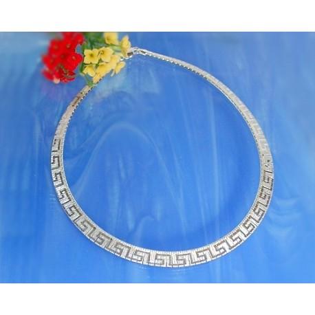 Silberschmuck - Damencollier 42 cm Silber-925  (KB04)*