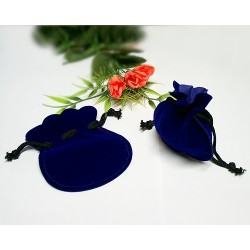 Verpackung - Schmuckbeutelchen royalblau (SK52)*