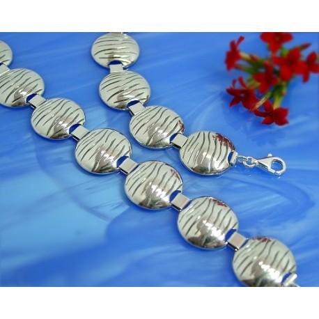 Armband 18,5 cm Silber-925  (SA39)