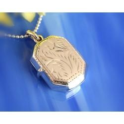 Silberschmuck - Medaillon Silber-925 (ST02)*