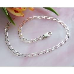 Silberschmuck - Armband 22 cm Silber-925 (SG02)*