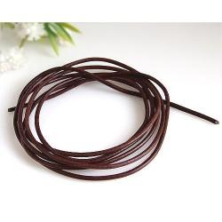 Lederband braun 100 cm / 1,5 mm  (KC35)